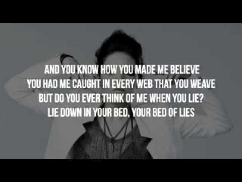 Nicki Minaj   Bed Of Lies Ft  Skylar Grey Clean Version Lyrics   Video