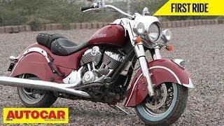 8. Indian Chief Classic Cruiser | India Test Ride | Autocar India