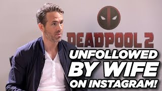 Download Lagu Ryan Reynolds talks about wife Blake Lively unfollowing him on Instagram Mp3