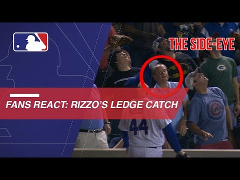 Video: Fans react to Rizzo in rollicking ways at Wrigley