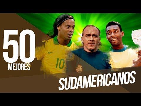 Los 50 mejores SUDAMERICANOS del FÚTBOL