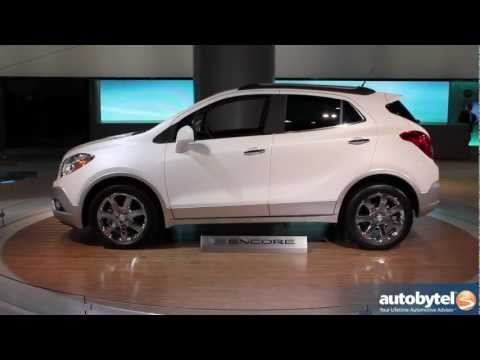 2013 Buick Encore At The LA Auto Show