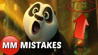 10 Hidden Mistakes You Missed In Kung Fu Panda 3 2016  | Kung Fu Panda 3 Movie Mistakes