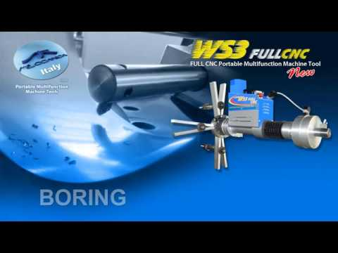 Full CNC Portable Multi-Function Machine Tool | Ws