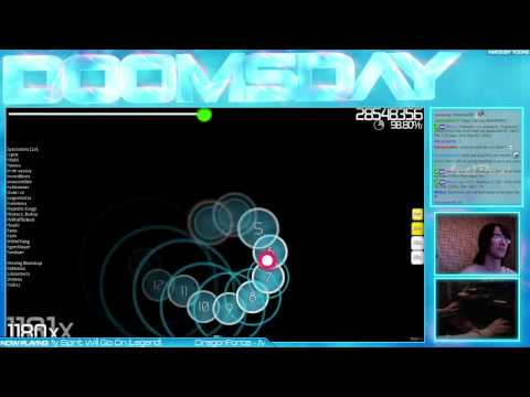 osu! – DragonForce – My Spirit Will Go On [Legend] – Played by Doomsday