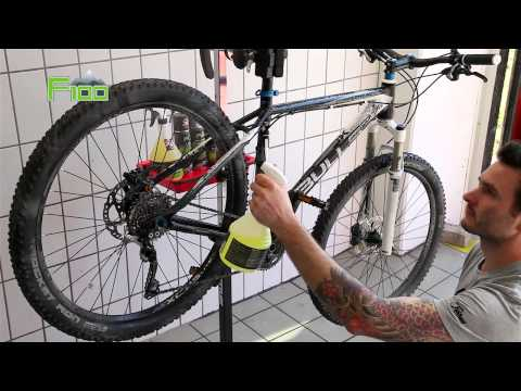 Fahrrad Pflege-Anleitung – mit F100 Fahrradreiniger