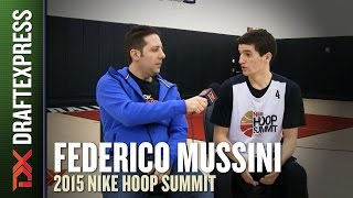 Federico Mussini - 2015 Nike Hoop Summit - Interview
