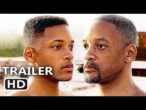 "GEMINI ""Will Smith CGI De-Aging"" Trailer (2019) Ang Lee Movie HD"
