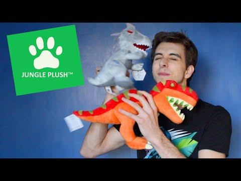 Dinosaur Plushies! - Jungle Plush Review/Unboxing