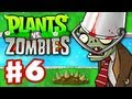 Plants vs. Zombies - Gameplay Walkthrough Part 6 - World 3 (HD)