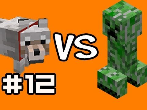 Minecraft Solo: 100 Creepers vs 60 Wolves Test w/ Nova Ep.12 (Singleplayer Survival)