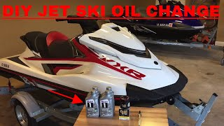 8. DIY Oil change for Yamaha VXR Jet Ski