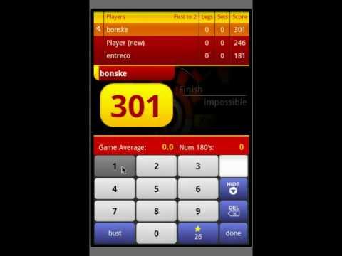 Video of Darts ScoreCard PRO