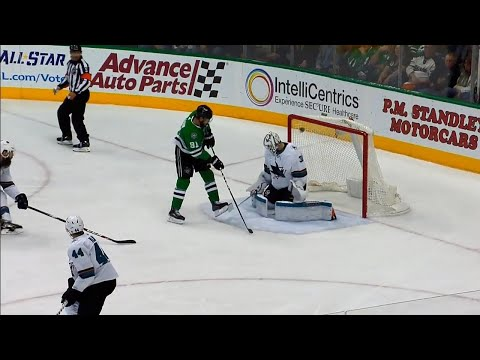 Video: Stars' Tyler Seguin uses perfect deflection to score top shelf