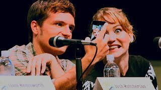 "Jennifer Lawrence + Josh Hutcherson | ""Josh and I are both crazy"""