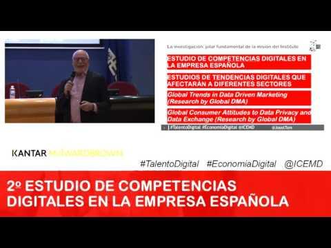 2º Estudio de las Competencias Digitales en la Empresa Española
