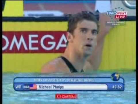 Phelps y Rafa Muñoz ROMA Italia Jul 29 Swwiming .avi