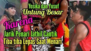 Video Jariknya Jathil Lepas Ketika Menari di Pegang sama Ganongan Yusuf  Yosika MP3, 3GP, MP4, WEBM, AVI, FLV November 2017