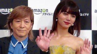 小室哲哉、池田エライザ、/Amazonプライム・ビデオ 日本オリジナル作品『Invisible TOKYO』記者発表会