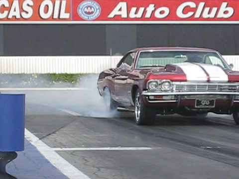 1965 Impala with a Duramax engine vs. Lamboghini