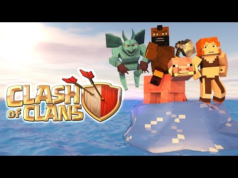 "Minecraft | Clash of Clans Nations 2.0 – Ep 2! ""A NUCLEAR BOMB TREATY"""