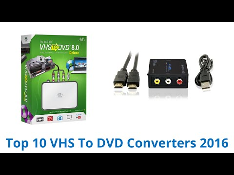 10 Best VHS To DVD Converters 2016
