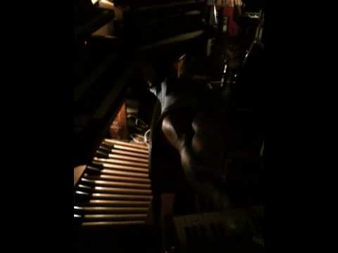 Scissors over the organ.mov