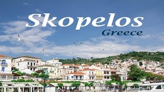 Skopelos Greece  city photo : Skopelos Greece 4k