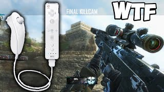 BO2 TRICKSHOT WITH THE WII-U REMOTE... WTF! - Black Ops 2 Trickshotting on Wii