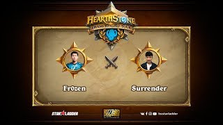 Surrender vs Fr0zen, game 1