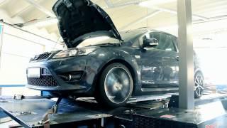 Ford Focus ST MK2, Softwareoptimierung Prüfstand 249PS / 445Nm