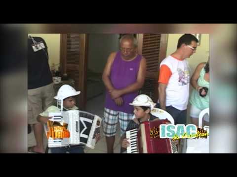 Isac do Acordeon tocando na casa de Joquinha Gonzaga em Exu - PE