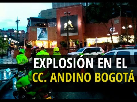 Atentado en un centro comercial de Bogotá desata el terror (VIDEO)