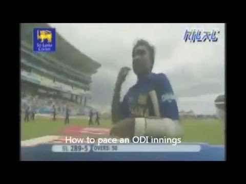 Tribute to Mahela