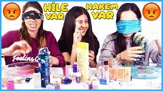 Slime Şakası Gözü Kapalı Slaym Challenge Çöplük Slime Dila Kent