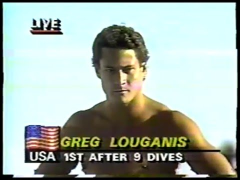 Olympics - 1984 Los Angeles - ABC Profile - What Is Gold & Diving Springboard Prelims 10th Dive