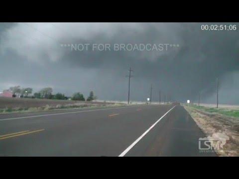 4-15-16 Eva, Oklahoma Multiple Tornadoes (видео)