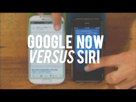 google - http://cnet.co/16CSssc Watch as we pit Siri against **Google Now** in a live test to find out which one offers the fastest, most accurate, and richest voice ...