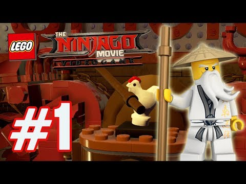 The LEGO Ninjago Movie Videogame  - Part 1 (Prologue) - THE MASTER CHICKEN!