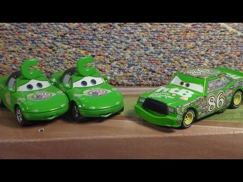 Disney Pixar Cars 3 CARS PACK Race O Rama (mia fan,tia fan,chick hicks)