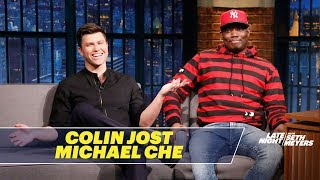 Video Michael Che and Colin Jost Review Their Rejected SNL Sketches MP3, 3GP, MP4, WEBM, AVI, FLV September 2018