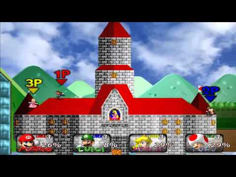 Super Smash Bros Crusade v0.7 Mario Bros Battle [HQ]