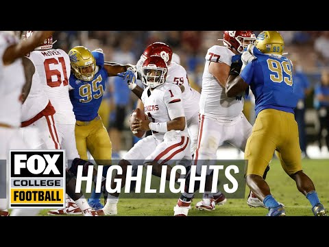 Video: No. 5 Oklahoma tops UCLA in 48-14 victory at the Rose Bowl | FOX COLLEGE FOOTBALL HIGHLIGHTS