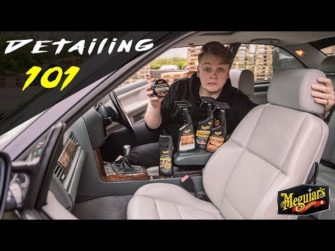 How to CLEAN and PROTECT LEATHER seats - Detailing 101 Ep.9