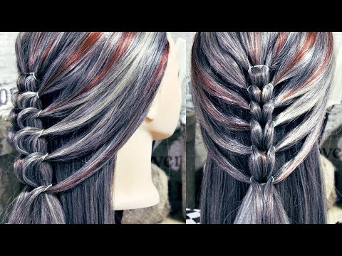 "Braid hairstyles - Interesting braid ""Cock""  Hairstyles by REM   Lena Rogovaya"