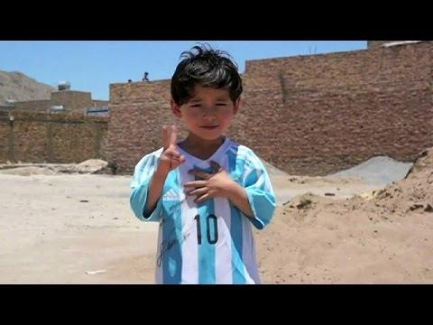 Το όνειρο έγινε εφιάλτης για τον 5χρονο Αφγανό θαυμαστή του Μέσι
