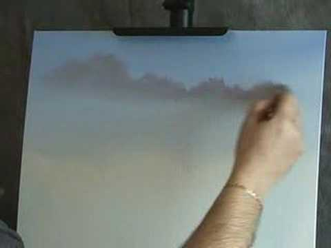 Oils - Here is a lesson in oil painting techniques for clouds. Please toggle to full screen for maximum detail. For more information, visit: http://www.wilsonbickfo...