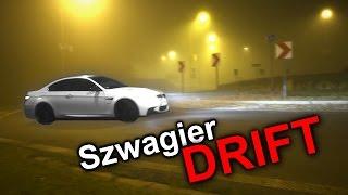 Szwagier bawi się we Froga i driftuje BMW M3