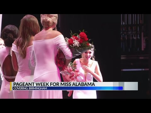 Pageant week for Miss Alabama