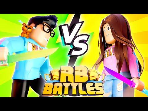 Hyper vs Cari - RB Battles Championship For 1 Million Robux! (Roblox)